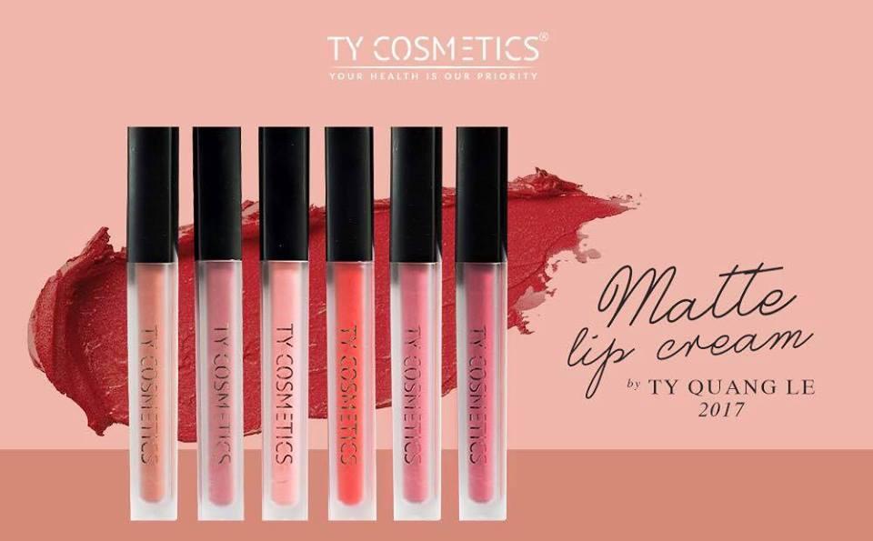 Ty Cosmetics Matte lip cream